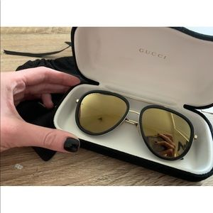 Gucci aviators 56mm